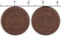 Изображение Монеты Германия 2 пфеннига 1912 Медь VF