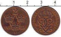 Изображение Монеты Швеция 2 эре 1939 Медь VF