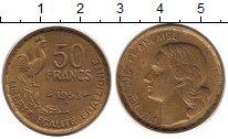 Изображение Монеты Франция 50 франков 1953 Латунь XF