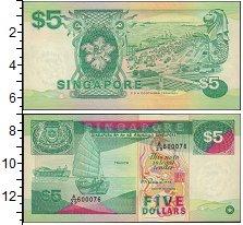 Изображение Банкноты Сингапур 5 долларов 0  XF