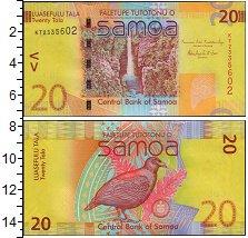 Изображение Банкноты Самоа 20 тала 0  XF