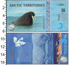Изображение Банкноты Арктика 3 1/2 доллара 2014  UNC