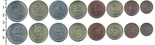 Изображение Наборы монет Испания Европроба 1998 1998  UNC- Официальная ПРОБА.В