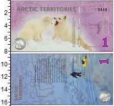Изображение Банкноты Арктика 1 доллар 2012  UNC