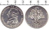Изображение Монеты Франция 100 франков 1987 Серебро XF+