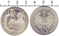 Изображение Монеты ФРГ 10 марок 1998 Серебро UNC