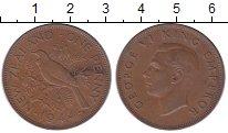 Изображение Монеты Новая Зеландия 1 пенни 1944 Бронза XF