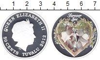 Изображение Монеты Тувалу 50 центов 2012 Серебро Proof Коалы