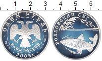 Изображение Монеты Россия 1 рубль 2005 Серебро Proof- Волховский сиг