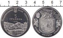 Изображение Монеты Украина 5 гривен 2008 Медно-никель UNC 725 лет г.Ровно