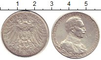 Изображение Монеты Пруссия 2 марки 1913 Серебро XF-