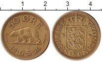 Изображение Монеты Дания Гренландия 50 эре 1926 Латунь XF