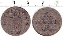 Изображение Монеты Саксония 2 гроша 1842 Серебро VF G
