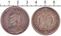 Изображение Монеты Великобритания 1/2 кроны 1887 Серебро XF