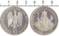 Изображение Монеты ФРГ 10 марок 1990 Серебро Proof- F  800 - летие  со