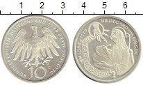 Изображение Монеты Германия ФРГ 10 марок 1998 Серебро UNC-