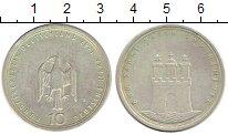 Изображение Монеты ФРГ 10 марок 1989 Серебро UNC-