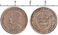 Изображение Монеты Панама 1/10 бальбоа 1953 Серебро XF