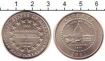 Изображение Монеты США 1/2 доллара 2001 Медно-никель UNC 6-й Конгресс США.Род