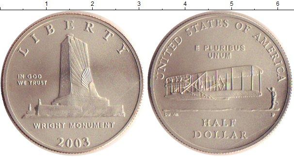 Картинка Монеты США 1/2 доллара Медно-никель 2003