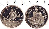 Изображение Монеты США 1/2 доллара 1992 Медно-никель Proof