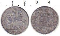 Изображение Монеты Испания 10 сентим 1953 Алюминий