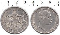 Изображение Монеты Германия Баден 1 талер 1862 Серебро XF