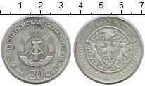 Изображение Монеты ГДР 20 марок 1987 Серебро Proof-