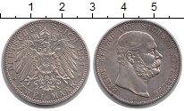 Изображение Монеты Саксен-Альтенбург 2 марки 1901 Серебро XF