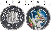 Изображение Монеты Андорра 10 динерс 2008 Серебро Proof