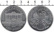 Изображение Монеты Австрия 1 1/2 евро 2008 Серебро UNC Венская филармония