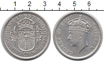 Изображение Монеты Родезия 1/2 кроны 1937 Серебро XF Георг VI