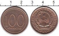 Изображение Монеты Ангола 100 кванза 1991 Медь XF