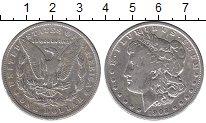 Изображение Монеты США 1 доллар 1902 Серебро XF-