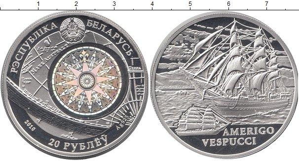 Беларусь 20 рублей 2010 веспуччи 3com 2008 года цена