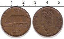 Изображение Монеты Ирландия 1/2 пенни 1966 Бронза XF