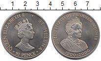 Изображение Монеты Великобритания Остров Святой Елены 50 пенсов 2000 Медно-никель UNC
