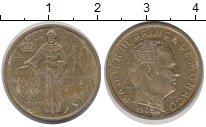 Изображение Монеты Монако 10 сантим 1962 Латунь XF-