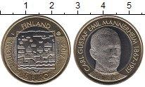 Изображение Мелочь Финляндия 5 евро 2017 Биметалл UNC Карл Густав Маннерге