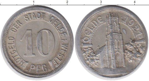 Картинка Монеты Германия : Нотгельды 10 пфеннигов Алюминий 1921