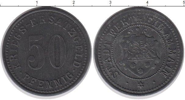 Картинка Монеты Германия : Нотгельды 50 пфеннигов Цинк 1917