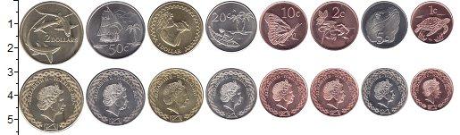 Изображение Наборы монет Токелау Набор 2017 года 2017  UNC Набор монет Токелау