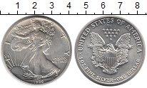 Изображение Монеты США 1 доллар 1989 Серебро UNC