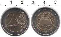Монета Германия 2 евро Биметалл 2007 UNC фото
