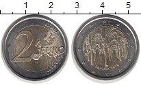 Изображение Монеты Испания 2 евро 2010 Биметалл UNC