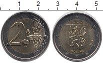 Изображение Монеты Латвия 2 евро 2016 Биметалл UNC