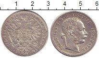 Изображение Монеты Австрия 1 флорин 1878 Серебро XF-