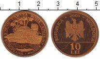 Изображение Монеты Молдавия 10 лей 2003  Proof-