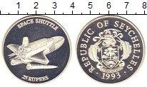 Изображение Монеты Сейшелы 25 рупий 1993 Серебро Proof