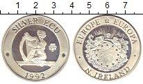 Изображение Монеты Ирландия 1 экю 1992 Серебро Proof- Европа.Пьефор